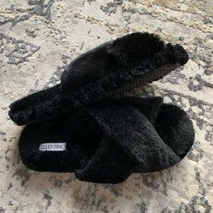 Ellen Tracy Shoes - Ellen Tracy Crisscross Slippers 9